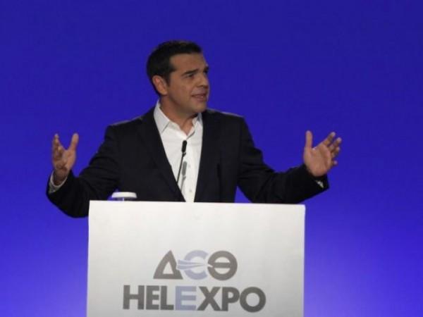 Ο πρωθυπουργό της χώρας Αλέξης Τσίπρας - ΔΕΘ