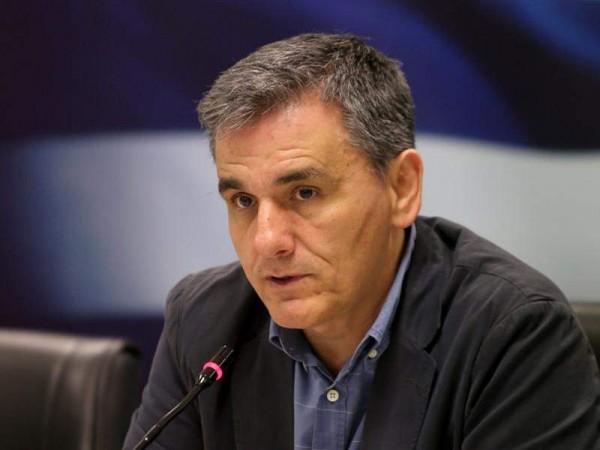 Υπουργός Οικονομικών Ευκλείδης Τσακαλώτος