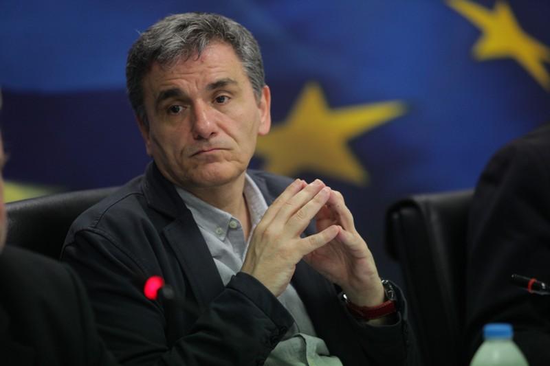 Ο Υπουργός Οικονομικών Ευκλείδης Τσακαλώτος