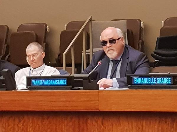 Ομιλία στον ΟΗΕ