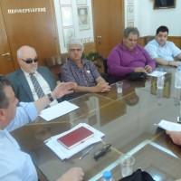 Συνάντηση στην Περιφέρεια Κρήτης