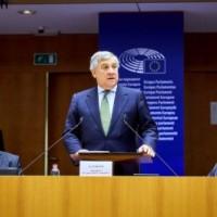 Ομιλία του Antonio Tajiani