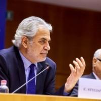 Με τον Ευρωπαίο Επίτροπο για την Ανθρωπιστική Βοήθεια και τη Διαχείριση Κρίσεων Χρήστο Στυλιανίδη