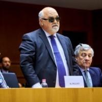 Κατά τη διάρκεια της ομιλίας του ο Ι. Βαρδακαστάνης
