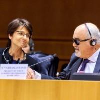 Με την Marianne Thyssen Επίτροπο για  την Εργασία, Απασχόληση, Κοινωνικές Υποθέσεις
