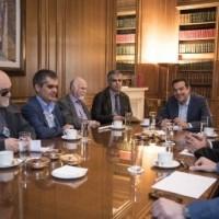 Στιγμιότυπο κατά τη διάρκεια της συνάντησης