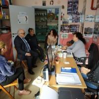 """Συνομιλία με τα μέλη του διοικητικού Συμβουλίου της """"Ελπίδας"""""""