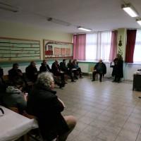 Συζήτηση του Ι. Βαρδακαστάνη στη συνάντηση των φορέων στο 6ο Δημοτικό Σχολείο Κομοτηνής
