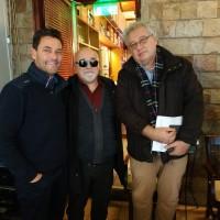 Ο Ι. Βαρδακαστάνης με τον συνεισηγητή της γνωμοδότησης, Stefano Mallia και τον κ. Πιτσινίγκο, Προϊστάμενο Ειδική Υπηρεσίας