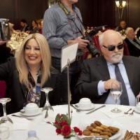 Ο Ι. Βαρδακαστάνης με την Πρόεδρο του ΚΙΝΑΛ Φώφη Γεννηματά