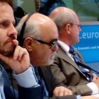 Κατά τη διάρκεια της Ημερίδας European Foundation Forum for Inclusion Conference