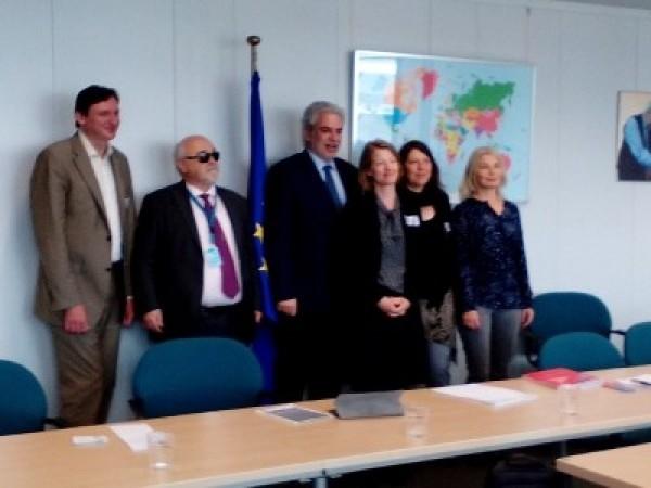 Συνάντηση με τον Ευρωπαίο Επίτροπο Χρήστο Στυλιανίδη