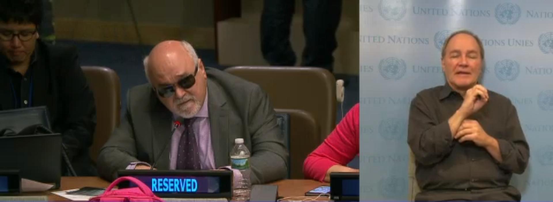 Ομιλία Βαρδακαστάνη στη Διάσκεψη της Σύμβασης για τα δικαιώματα των ΑμεΑ