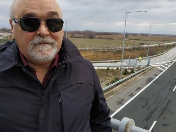 Ο Ι. Βαρδακαστάνης στην Εγνατία Οδό
