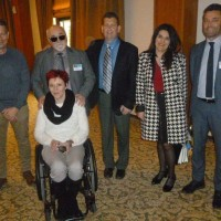Ο Ι. Βαρδακαστάνης με τον Stefano Mallia Και εκπροσώπους των τοπικών φορέων