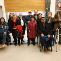 Ο Ι. Βαρδακαστάνης με εκπροσώπους των φορέων αναπηρίας Βόλου