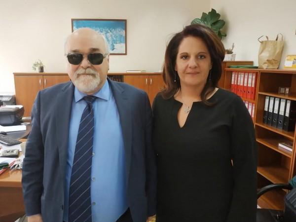 Ο Ι. Βαρδακαστάνης και η Σοφία Ανεστοπούλου