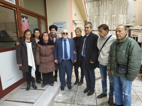 Ο Ι. Βαρδακαστάνης με συμμετέχοντες στην εκδήλωση