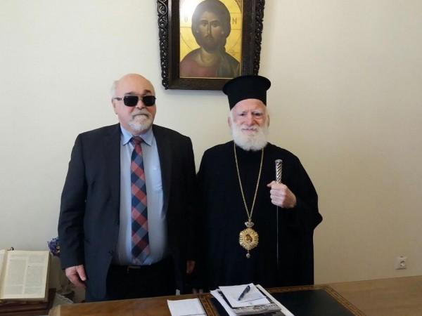 Συνάντηση του Ι. Βαρδακαστάνη με το Σεβασμιώτατο Αρχιεπίσκοπο Κρήτης, κ. Ειρηναίο