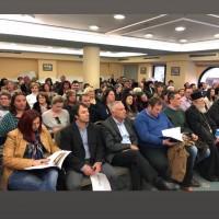 Άποψη της αίθουσας κατά τα τη διάρκεια της παρουσίασης του βιβλίου «Τα Δικαιώματά σου στην Ε.Ε» στην Καλαμάτα- 13 Μαρτίου 2019
