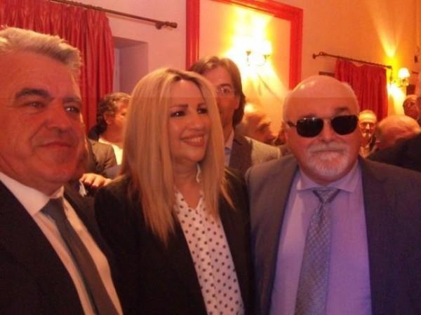 Ο Ι. Βαρδακαστάνης με την Πρόεδρο του Κινήματος Αλλαγής Φ. Γεννηματά και στελέχη του ΚΙΝΑΛ