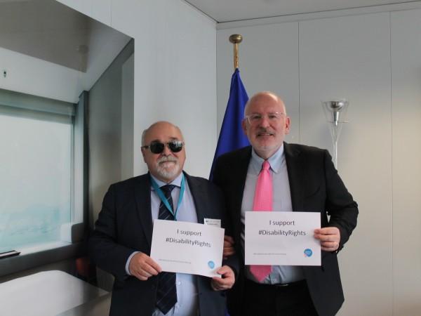 Ο Ι. Βαρδακαστάνης και ο F. Timmermans