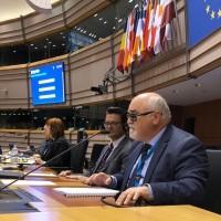 Ο Ι. Βαρδακαστάνης κατά τη διάρκεια της ομιλίας του στο πάνελ των ομιλητών