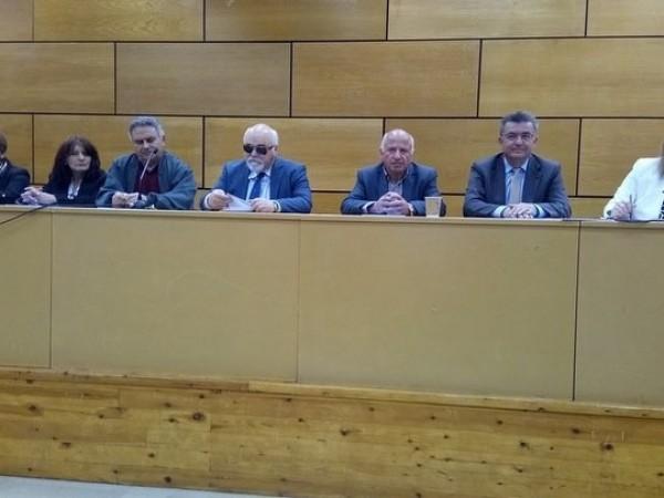 Ο Ι. Βαρδακαστάνης στο πάνελ των ομιλητών