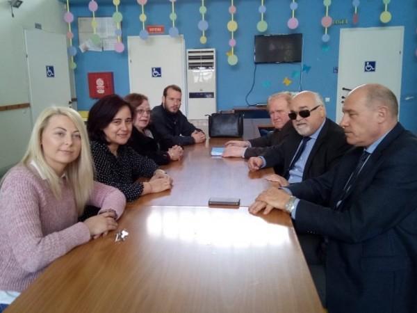 Από την επίσκεψη του Ι. Βαρδακαστάνη στις Σέρρες με το βουλευτή Σερρών Μ. Τζελέπη