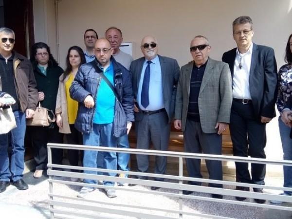 Από την επίσκεψη του Ι. Βαρδακαστάνη στα Ιωάννινα