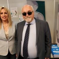 Ο Ι. Βαρδακαστάνης με την Πρόεδρο του Κινήματος Αλλαγής Φ. Γεννηματά στην έκθεση