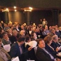 Ο Ι. Βαρδακαστάνης στην εκδήλωση ανάμεσα στον πλήθος των συμμετεχόντων