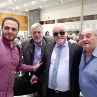 Ο Ι. Βαρδακαστάνη με συμμετέχοντες στην εκδήλωση