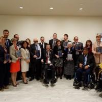 Από την βράβευση του Ι. Βαρδακαστάνη στην εκδήλωση της IDA
