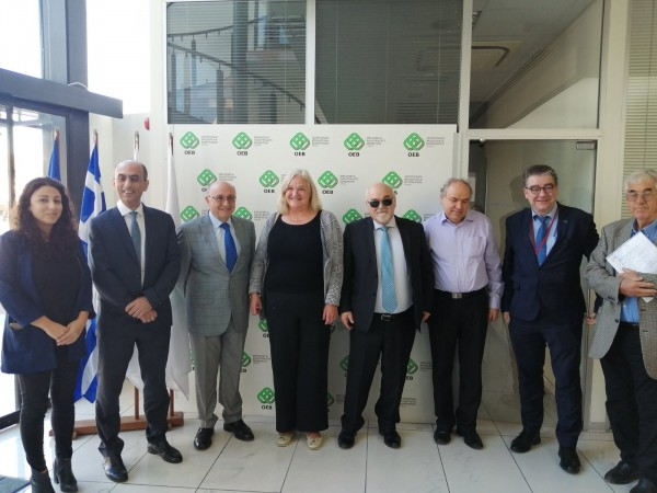 Στιγμιότυπο από την επίσκεψη του Ι. Βαρδακαστάνη στην Κύπρο
