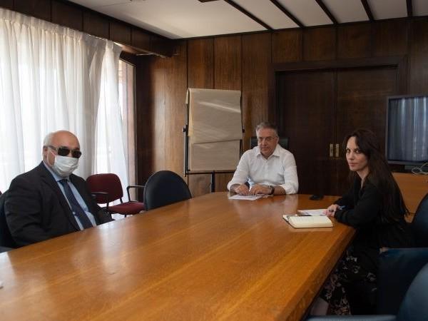Στιγμιότυπο από τη συνάντηση