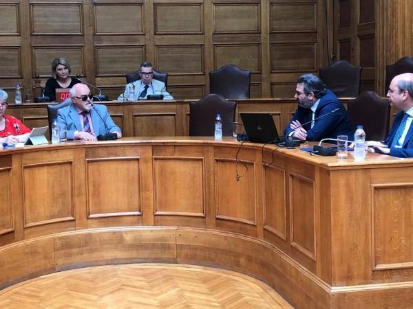 O I. Βαρδακαστάνης στη Βουλή